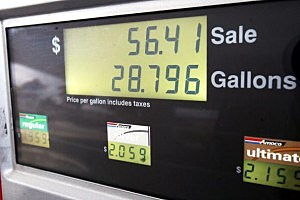 Gas prices droping